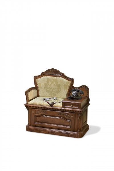 Banca telefon din lemn masiv MRBA-1