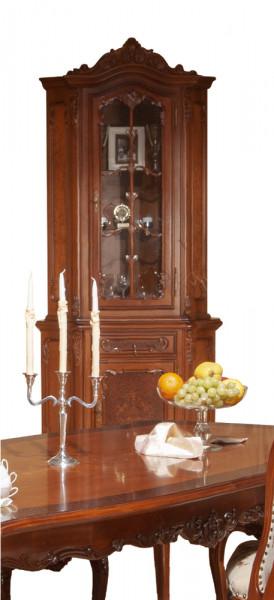 Bufet-vitrina colt din lemn masiv MDBU-36