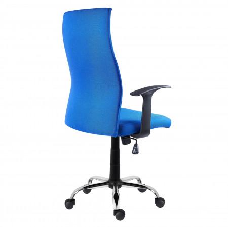 Scaun ergonomic directorial classic, albastru SSB-24
