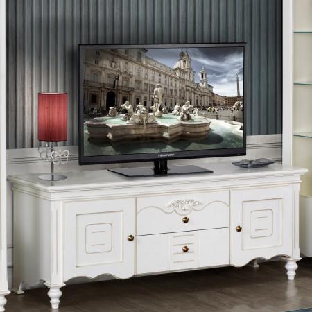 Bufet Tv plasma clasic alb MDBU-83