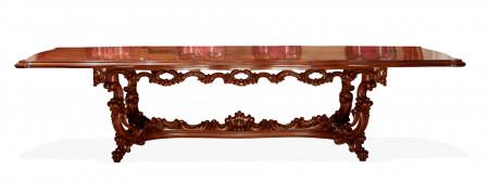 Masa extensibila din lemn masiv MAME-6