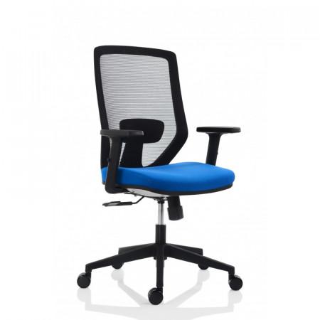 Scaun ergonomic pentru birou, albastru SSB-15