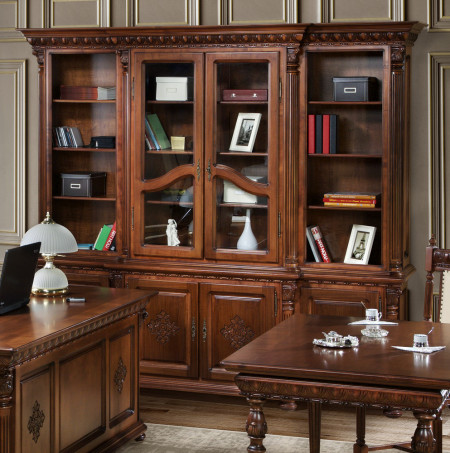 Biblioteca luxoasa pentru birou MDBI-4