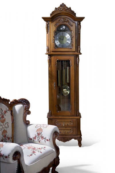 Carcasa ceas cu mecanism sculptat manual MDBU-39