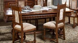 Masa eleganta, extensibila din lemn masiv MAME-10