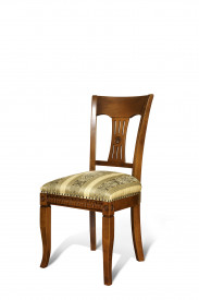 Scaun din lemn masiv, elegant, cu motive traditionale SSA-24