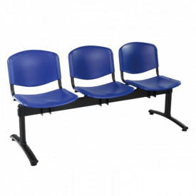 Scaun tip bancheta cu 3 locuri fixe SSSP-2
