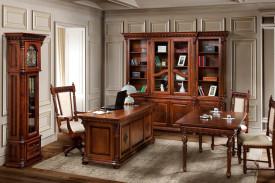 Set mobila birou sculptat manual MBSM-3
