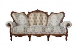 Canapea cu 3 locuri din lemn masiv MRFC-4