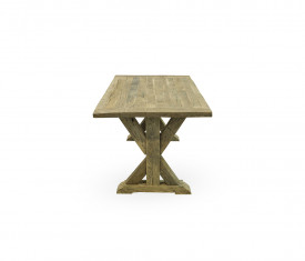 Masa fixa din lemn masiv vechi MAMF-4