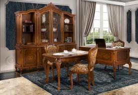 Set mobila birou cu elemente ornamentale MBSM-4