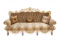 Canapea cu 3 locuri din lemn masiv MRFC-5