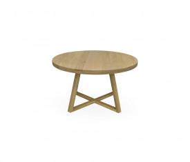 Masa rotunda din lemn masiv MAMR-1