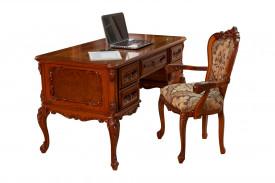 Masa birou din lemn masiv MBMB-3