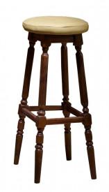 Scaun din lemn masiv, pentru bar Lux SSA-16