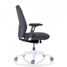 Scaun ergonomic executiv pentru birou, gri inchis SSB-18