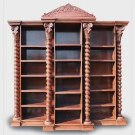 Biblioteca sculptata cu coloane spirale MDBI-11