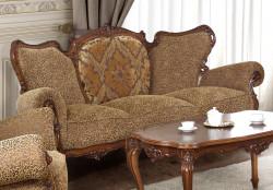 Canapea cu 3 locuri din lemn masiv MRFC-8