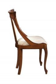 Scaun din lemn masiv, elegant, cu forma ergonomica SSA-25