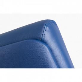 Scaun ergonomic ecopiele pentru birou Albastru SSB-5