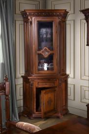 Bufet-vitrina colt sculptat manual MDBU-20