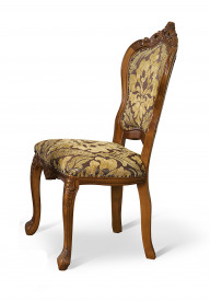Scaun din lemn masiv, sculptat, elegant SSA-18