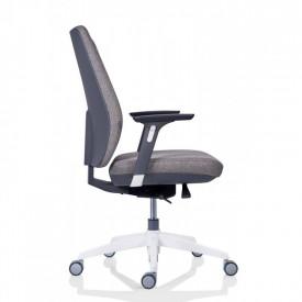 Scaun ergonomic operational pentru birou, gri deschis SSB-19