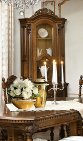 Bufet-vitrina colt stil Rococo MDBU-55