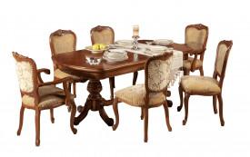 Masa extensibila, eleganta, stil clasic, din lemn masiv MAME-8