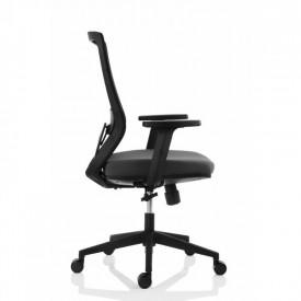 Scaun ergonomic pentru birou, negru SSB-13