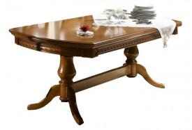 Masa extensibila, stil clasic, din lemn masiv MAME-9