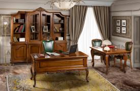 Set mobila birou din lemn masiv MBSM-2