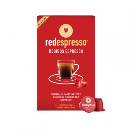 Red espresso® - Capsule ceai rooibos originale compatibile Nespresso ( 10 bucati)
