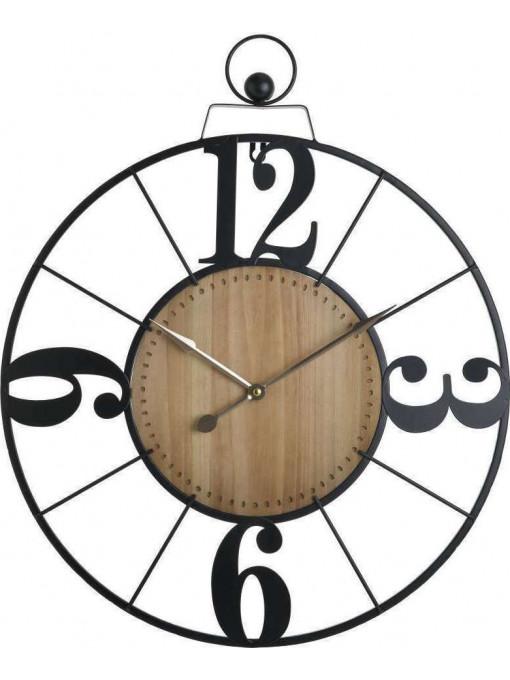 Ceas de perete Modern Times, Charisma, Lemn&Metal, 50Χ5Χ60