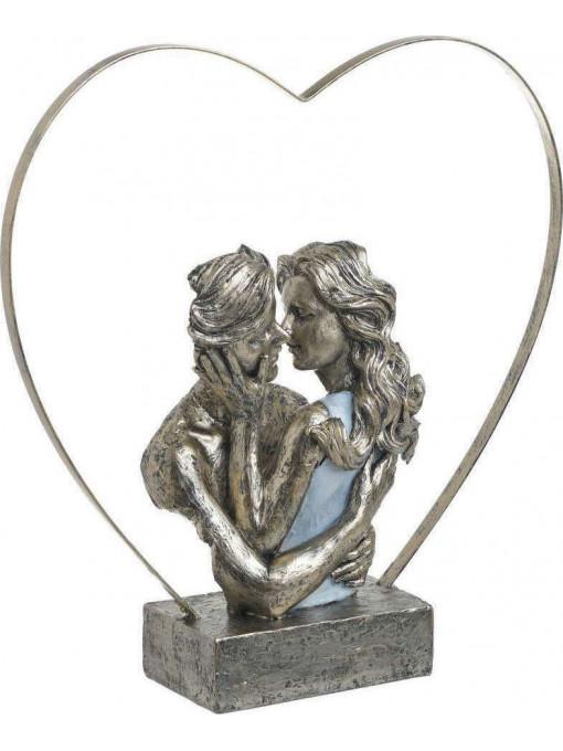 Statueta decorativa Passion Kiss, Rasina, Charisma 28Χ9Χ29