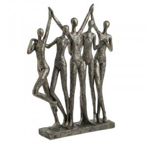 Deco Figurine Rasina, Charisma, Gold 24Χ6Χ32