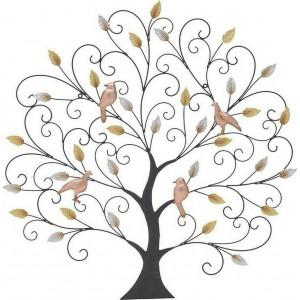 Decoratiune perete Bird Tree, Charisma, 87Χ2Χ87