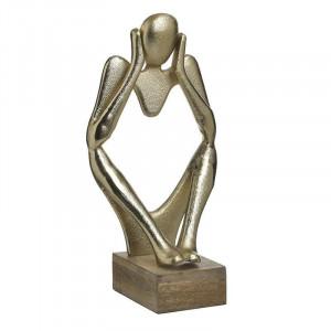 Statueta decorativa The Wonderer, Charisma, Metal, 20X10X33