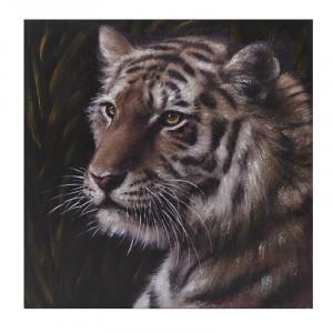 Tablou canvas Tiger Portrait, Charisma, 100x100