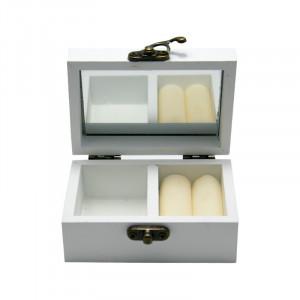 Caseta Bijuterii Lavender Perfumes, Lemn, Charisma, 9x6x4.5