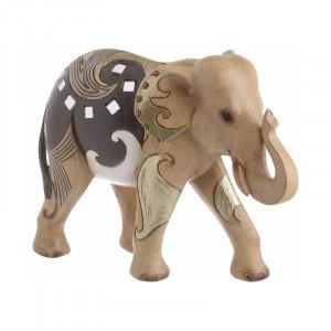 Decoratiune Brown Elephant, Charisma, Rasina, 22,5Χ8,5Χ17