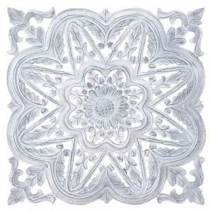Decoratiune de perete White Star, 40x3x40
