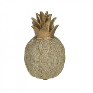 Decoratiune Golden Pineapple, Rasina, Charisma, 9Χ9Χ15