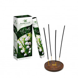 Pachet 120 betisoare parfumate Lily of the Valey + suport lemn