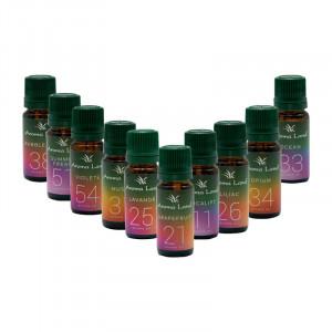 Pachet aromaterapie Family Life, 10 uleiuri + aroma difuzor