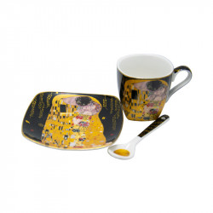 Set 2 cesti espresso Klimt, Charisma, Portelan, 50 ml