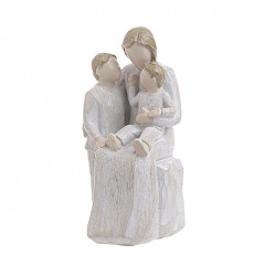 Statueta Mother and Kids, Rasina, 7x7x14