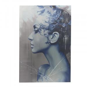 Tablou Canvas Blue Woman, Charisma, 80Χ120