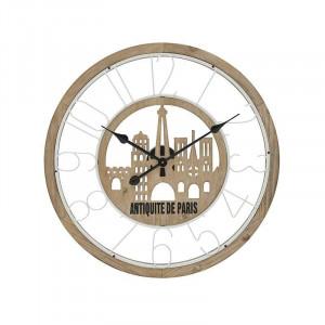 Ceas de perete Paris, Lemn, Charisma D60X5