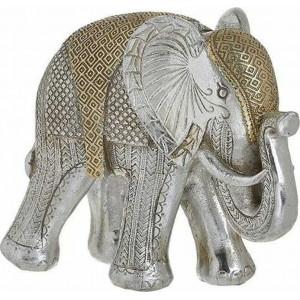 Decoratiune Golden Elephant, Charisma, Rasina, 21Χ9Χ18